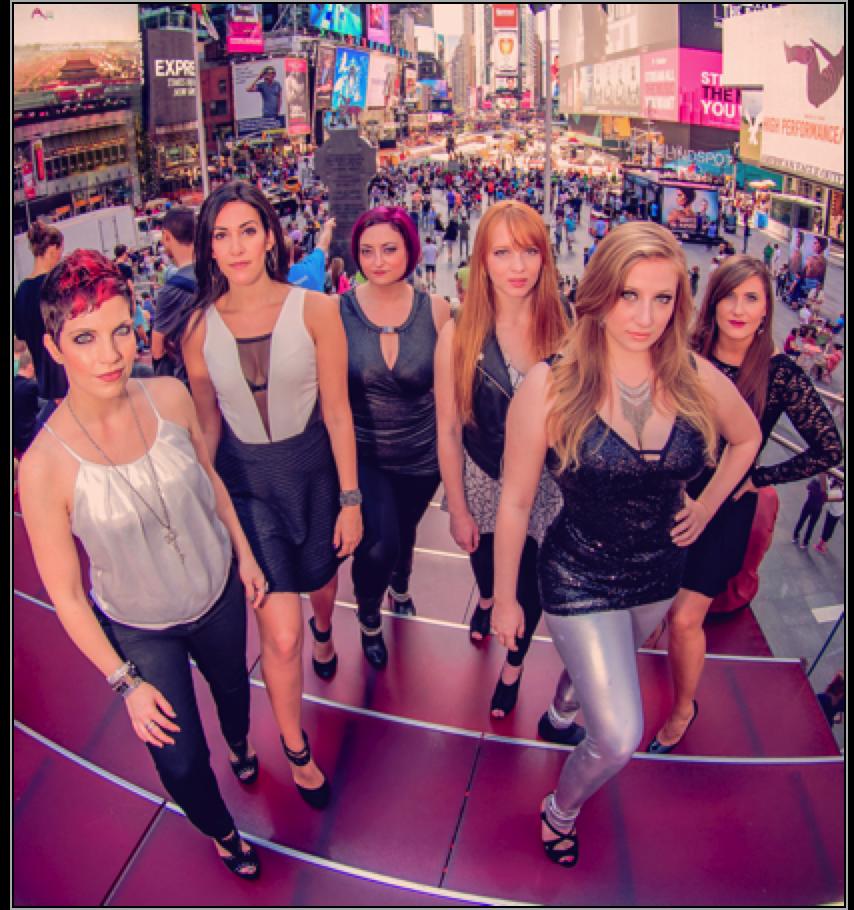 Stiletta ~ NYC's Favorite Women's Rock-Pop A Cappella Band