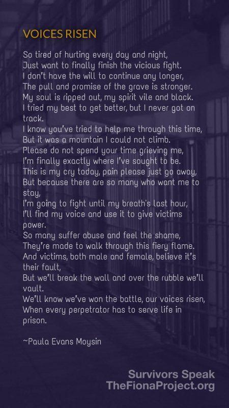 Voices Risen by Paula Evans Moysin